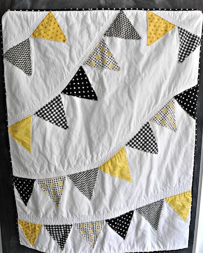 Hawkeye Inspired Baby Quilt