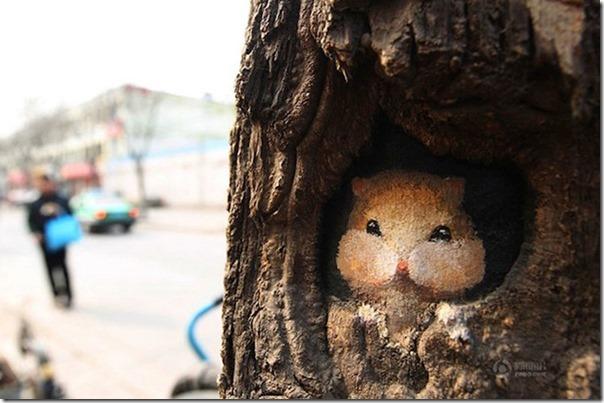 Arte nas árvores (2)