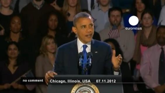Η ομιλία του Barack Obama μετά την εκλογική του νίκη (video)