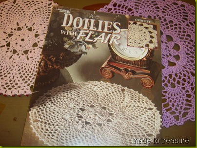 doilies with flair