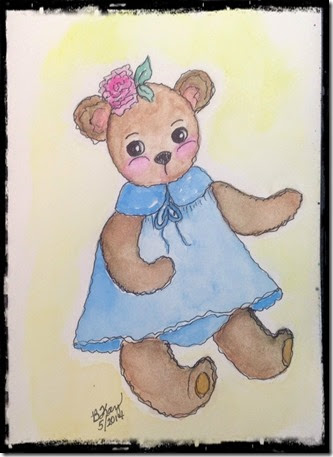 teddy bear girl
