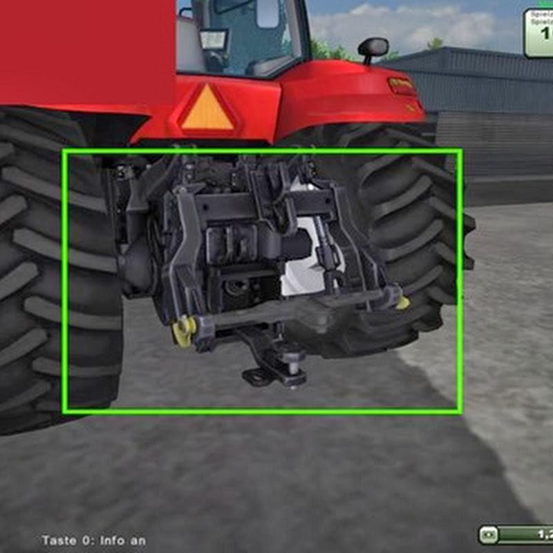 Farming simulator 2013 - CASE trailer attacher v 2.0 Titanium Addon