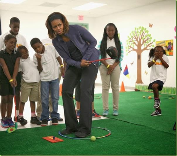 Michelle Obama Michelle Obama Visits Miami mZb9Y6baNKKl