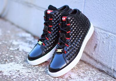 nike lebron 12 nsw sportswear lifestyle black red 3 01 Release Reminder: Nike LeBron NSW Lifestyle (Gallery)