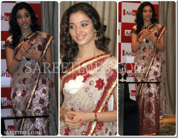 Tamanna_Embroidery_Shimmer_Saree