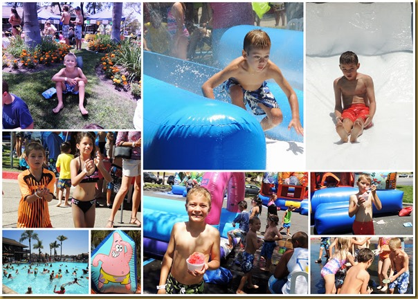 jump into summer collage