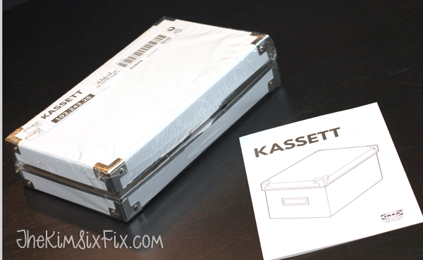 Ikea Kassett Photo box hack