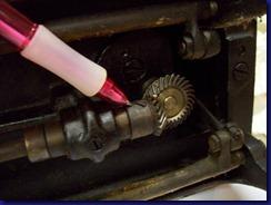back bevel gear set screws