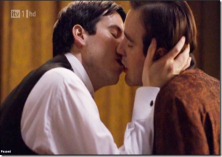 downton abbey gay kiss