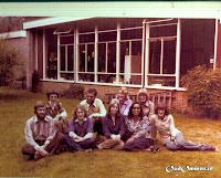 1977 Het team wordt steeds groter