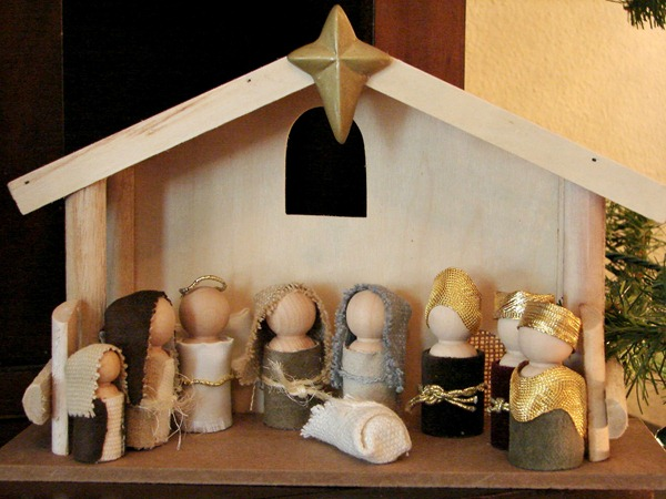 nativity doll tutorial