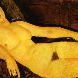 Modigliani, Nude on a Divan 1918