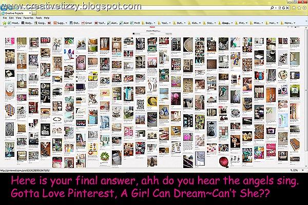 Pinterest All Pins Shown