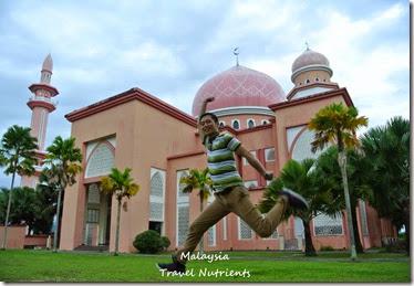 馬來西亞沙巴大學 粉紅清真寺 (12)