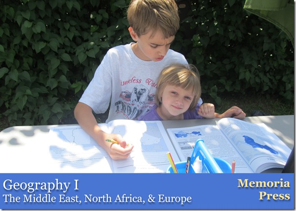 Review of Geography I from Memoria Press @Homeschooling Hearts & Minds