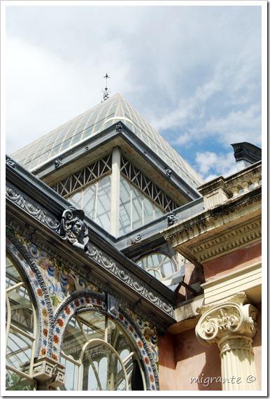 palacio de cristal - parque del retiro - madrid - unión edilicia