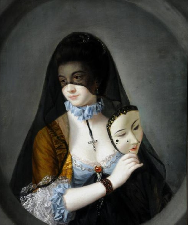 Henri Robert Morland, La belle religieuse démasquée