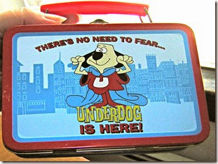 underdog lunch box