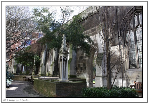 St Dunstan in the East exterior
