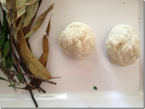 Invitation to Play with Eucalyptus Scented Playdough