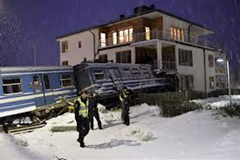 Swedish train crash