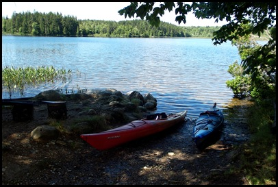 Kayaking Seal Cove Pond 258