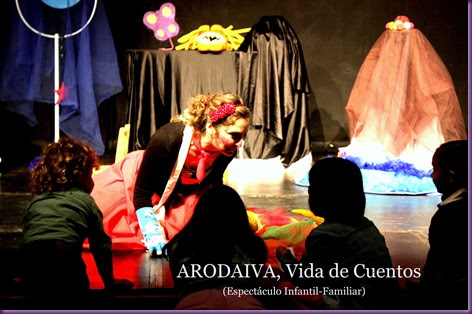 Arodaiva en el Teatr Sensac.Cartel.