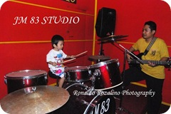 Vio , Belajar Drum di JM 83 Studio Kota Teluk Kuantan Kabupaten Kuantan Singingi  3
