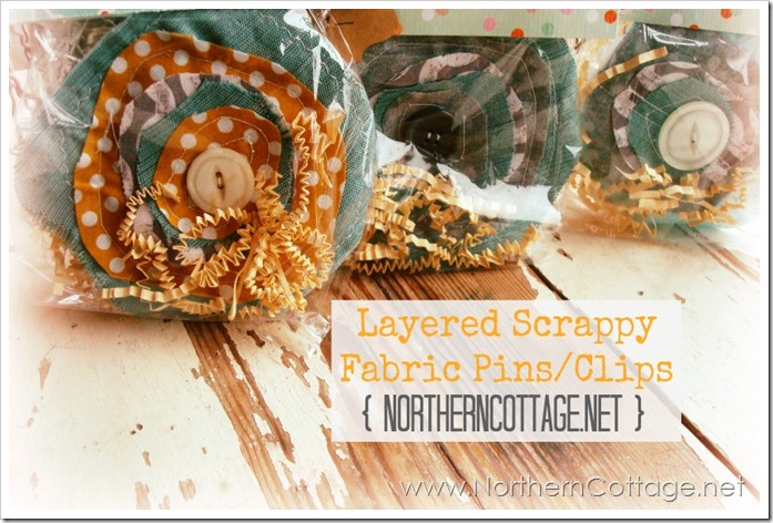 scrappy pin clip@NorthernCottage.net