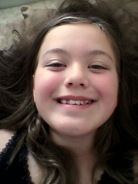 11 Year Old Girl Selfie of an 11 Year Old Girl