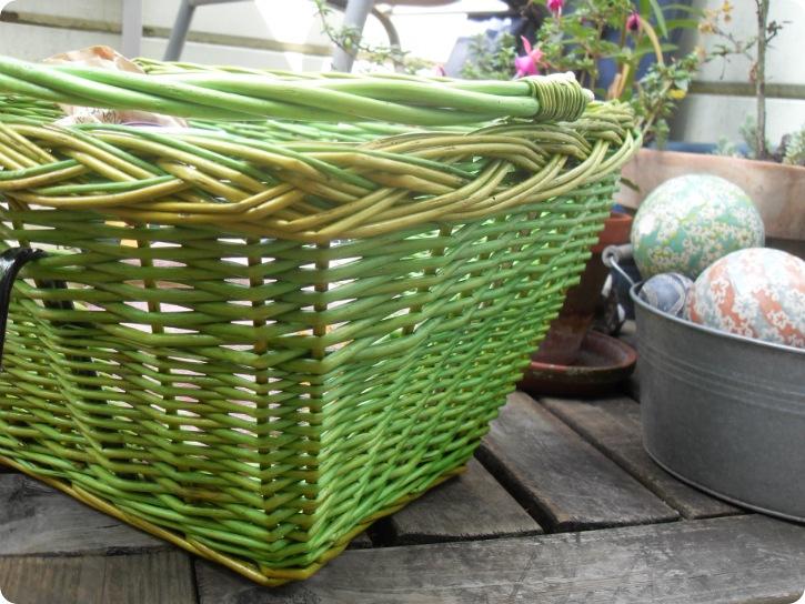 Skønne, grønne kurv