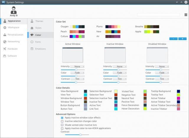 KDE Plasma Next - Systems Settings