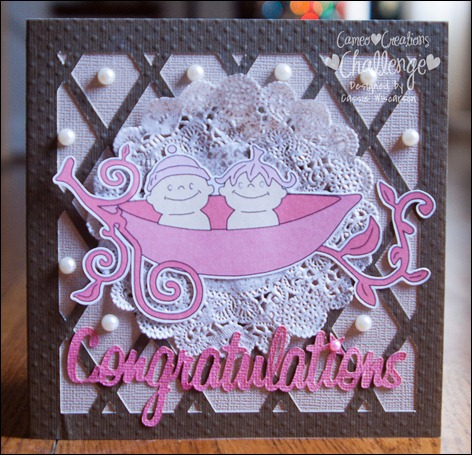 Cameo Creations Baby Card Blog