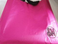 sm pink tote, bitsandtreats