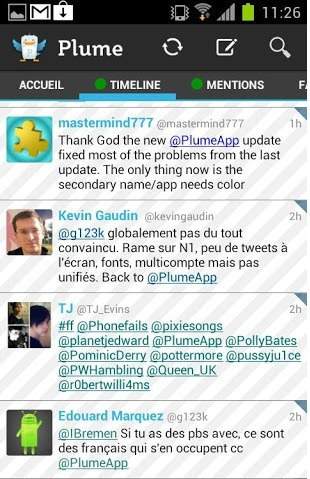 plume android app for tablet