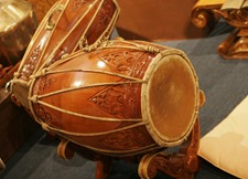 Traditional Drums from Indonesia