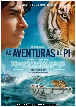 50e280cc27180 As Aventuras de Pi Dublado RMVB + AVI Dual Áudio DVDSCR