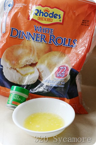 dill rolls ingredients