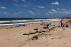 En José Ignacio, una playa inesperada: la del parador Las Rosas. Foto: LA NACION / Sebastián Rodeiro