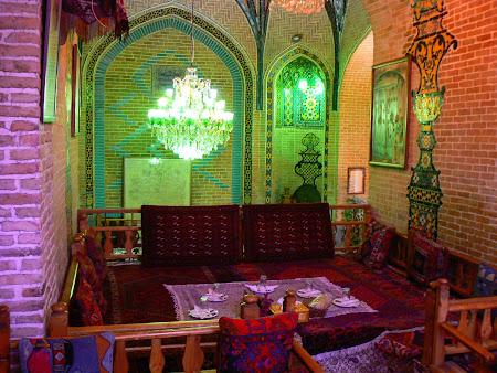 Iranian restaurant near Teheran bazaar