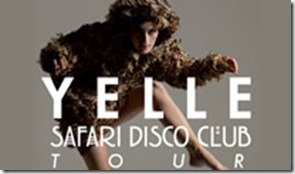 yelle safari disco club tour