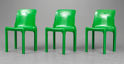 Selene chair, green