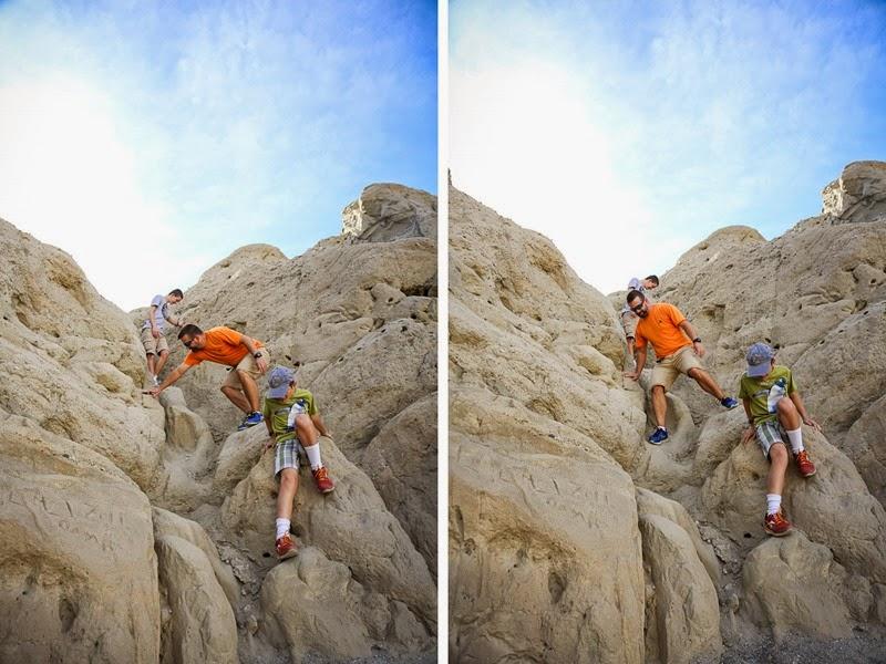 orocopia climbing down