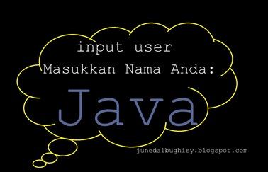 Cara Membuat Inputan User atau Fungsi Scanner Pada Java