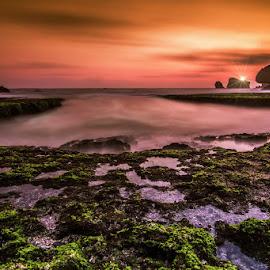 by Wong Ngidam - Landscapes Beaches