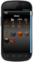 Screenshot of Crafting Builder and Designer