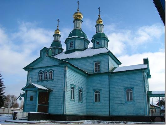 Липовий Скиток, церква