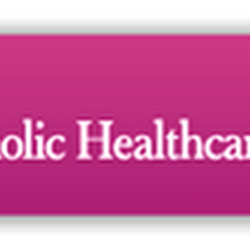 Catholic Healthcare West Ending It's Affiliation With the Catholic Church–Changing It's Name