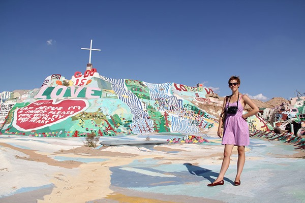 Clear the Way Kate Salvation Mountain