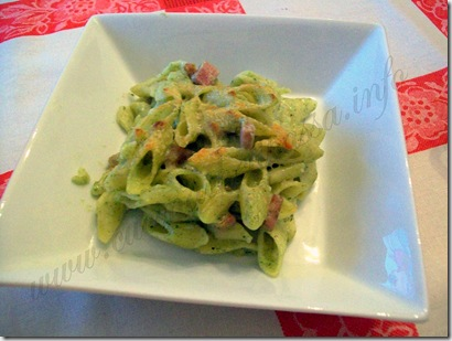 Pasta besciamella prosciutto e spinaci (28)